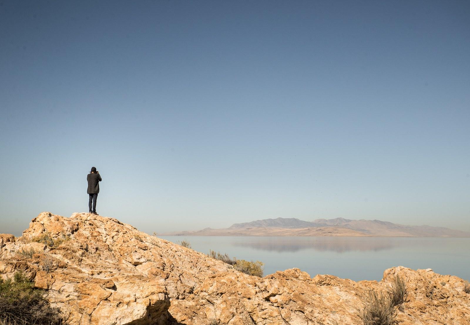 Egg Island Overlook Antelope Island