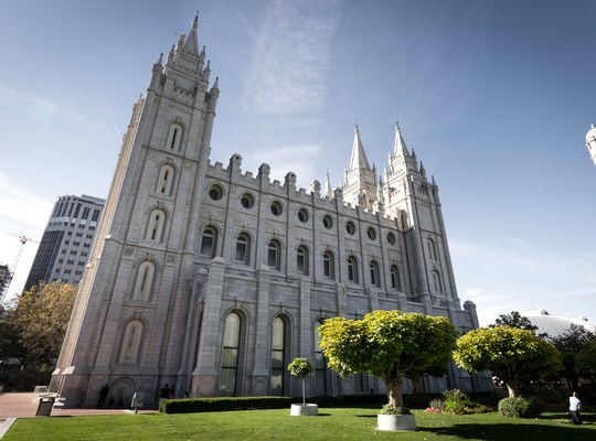 Temple Square à SLC