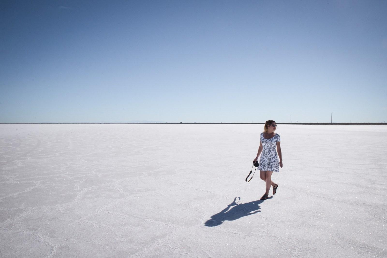 se promener dans le d sert de sel bonneville salt flats