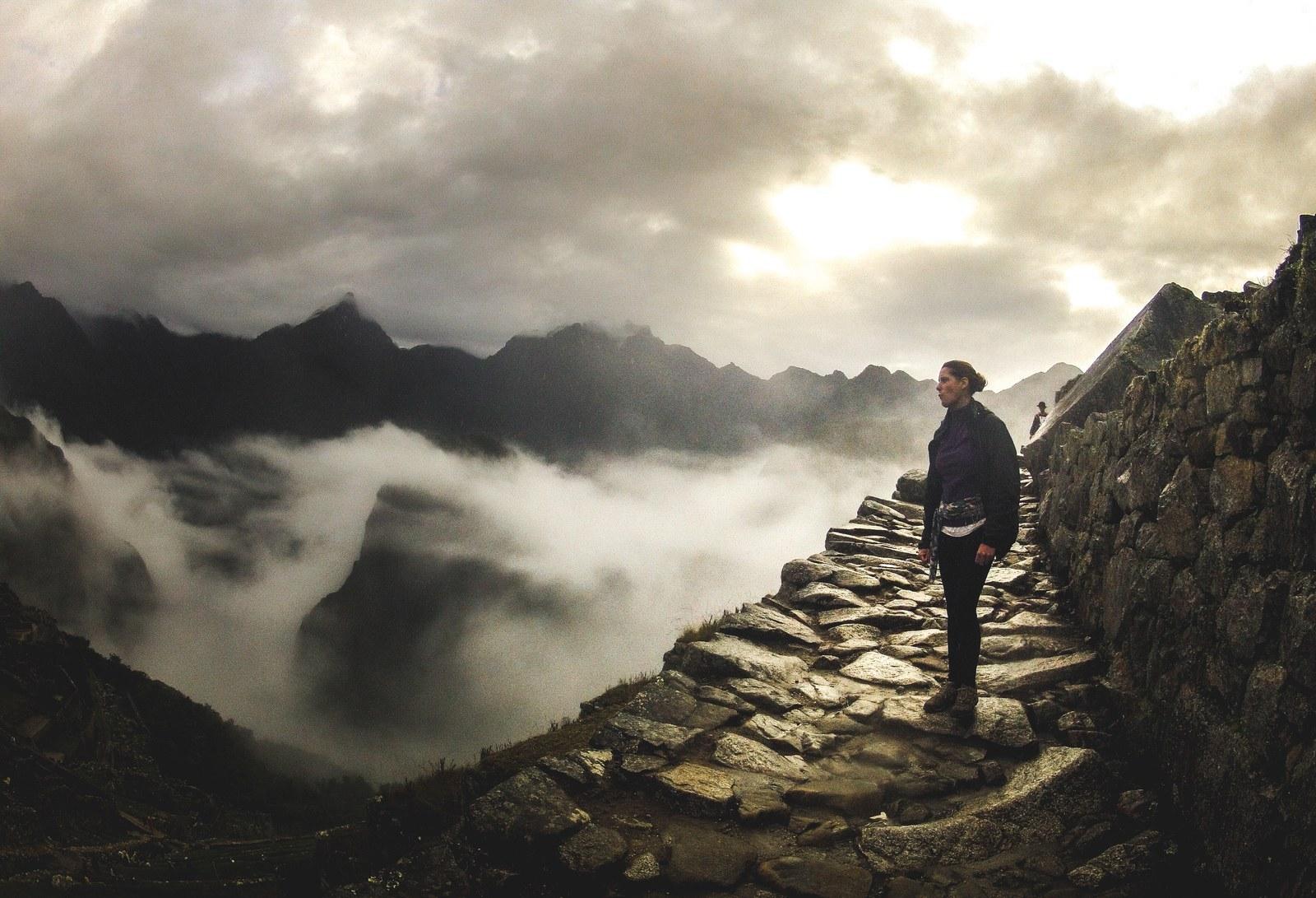 Premiers rayons du soleil Machu Picchu Machu Picchu