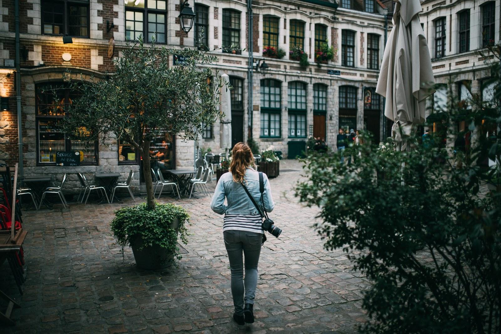 Manue dans le vieux Lille  Lille