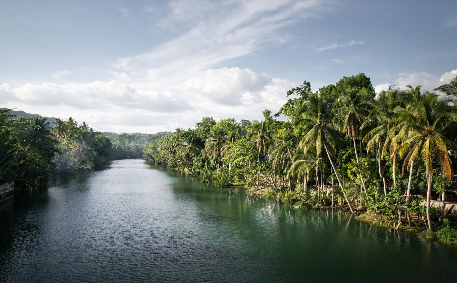 La rivière Loboc  Loboc