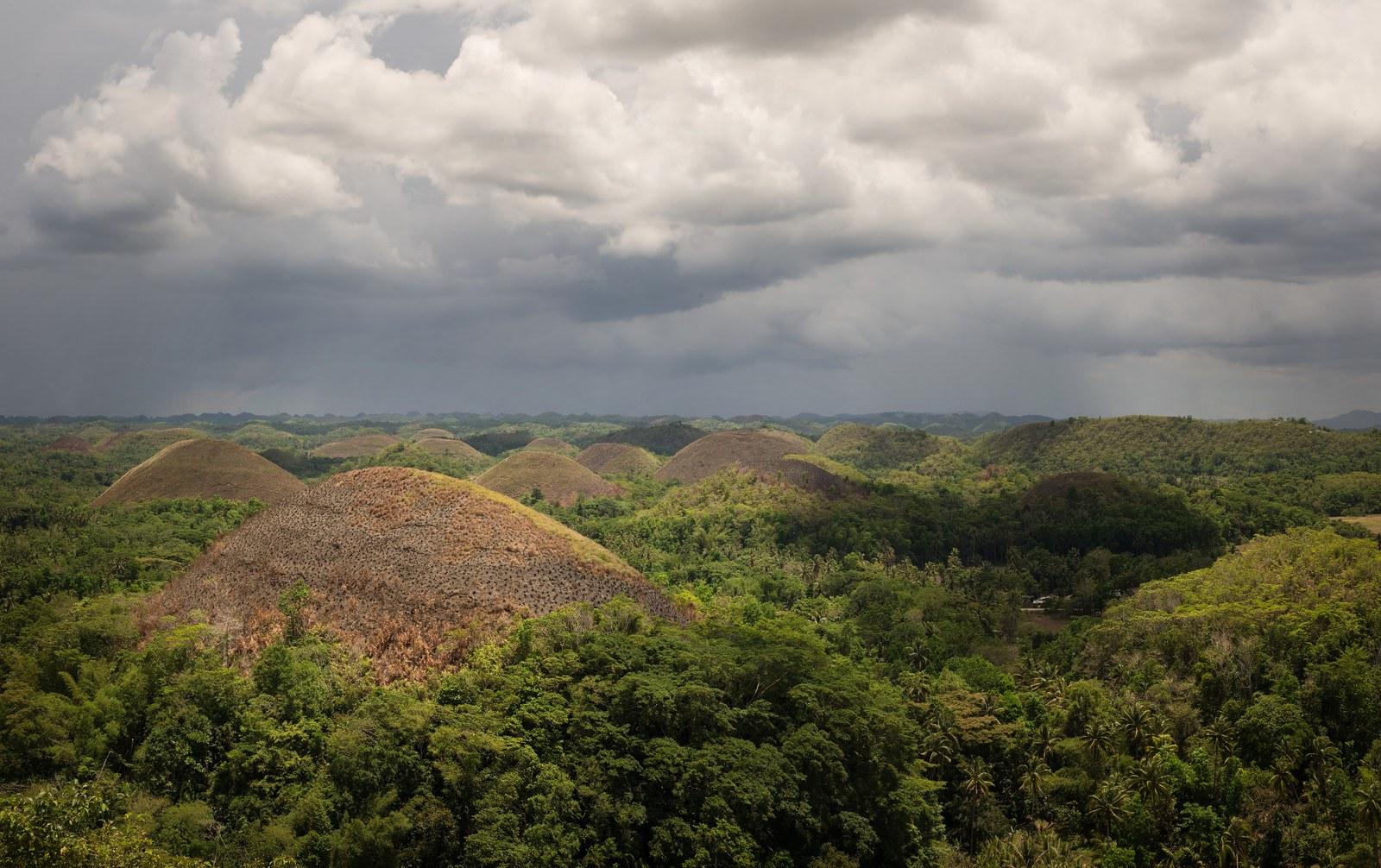 Collines de Chocolate Hills Chocolate Hills