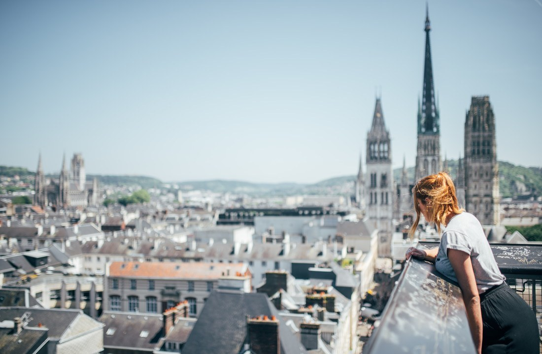 Voyager Dans Le Temps En Visitant La Vieille Ville De Rouen