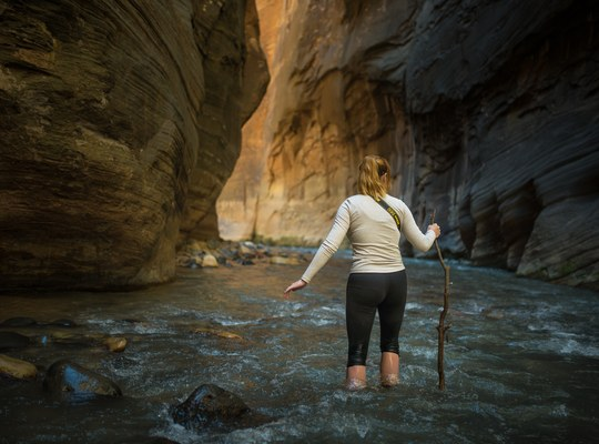 Virgin River, Narrows, Zion