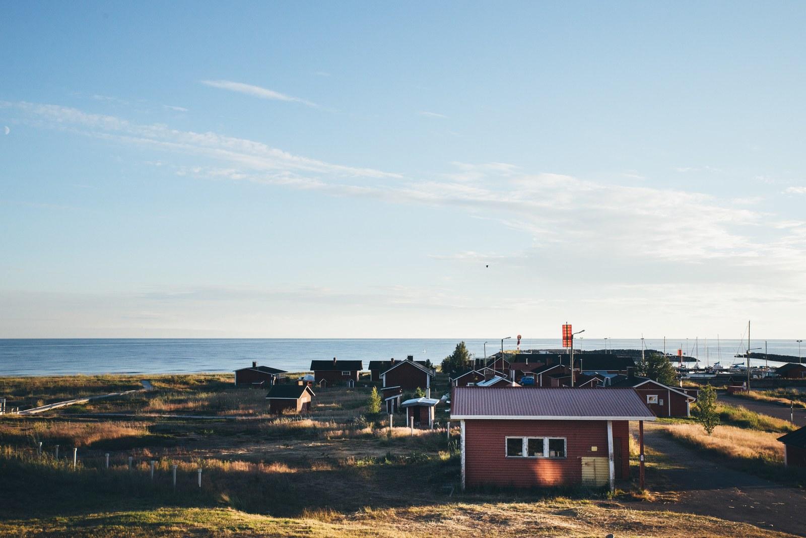 Village de Marjaniemi Hailuoto