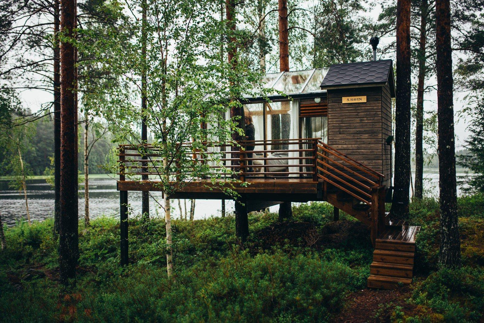 notre cabane dans la foret pour la nuit oulu en finlande. Black Bedroom Furniture Sets. Home Design Ideas