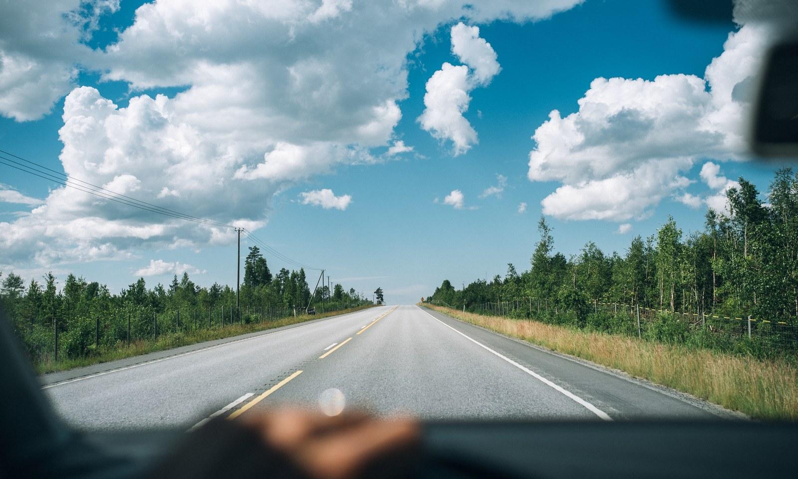 Sur les routes finlandaise Kokkola