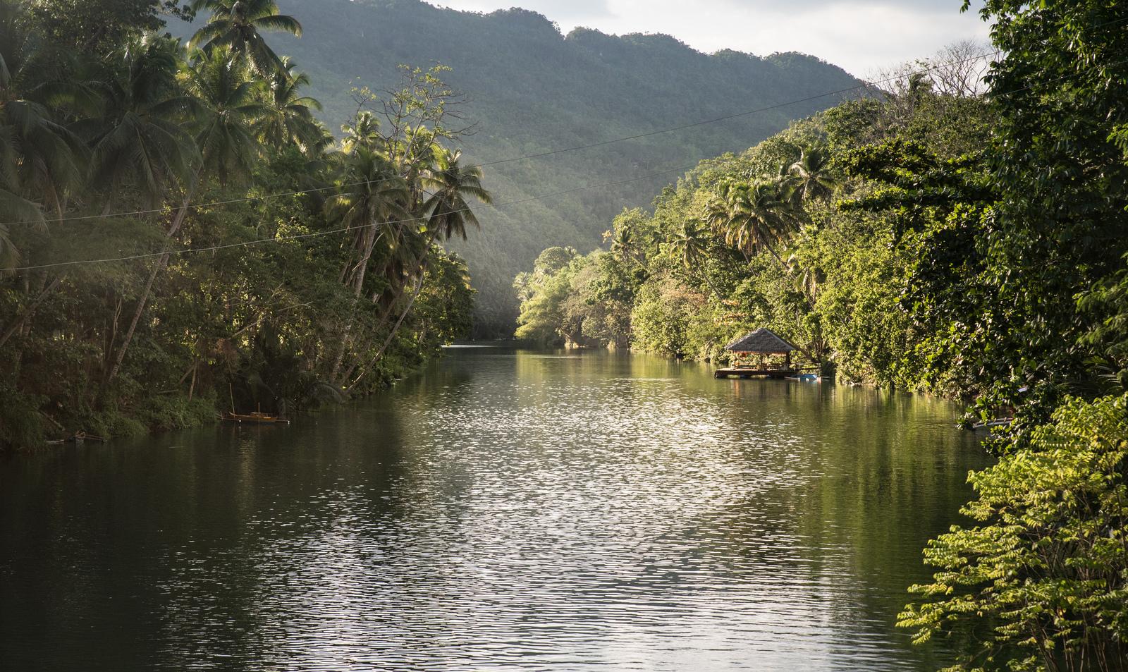 Loboc river, Philippines Loboc