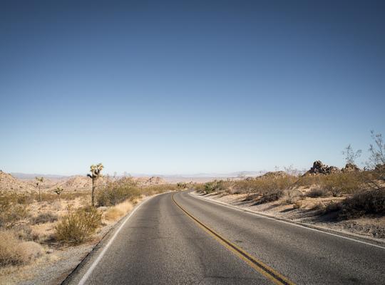 Reprendre la route au milieu du desert