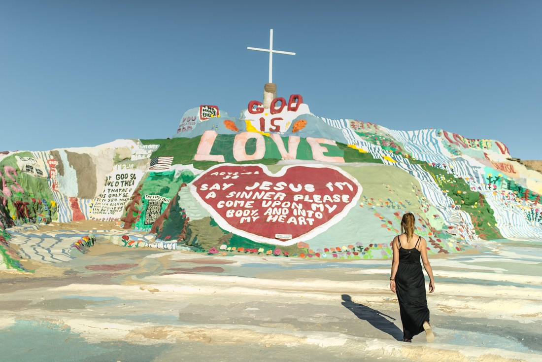 God is Love, Salvation Mountain