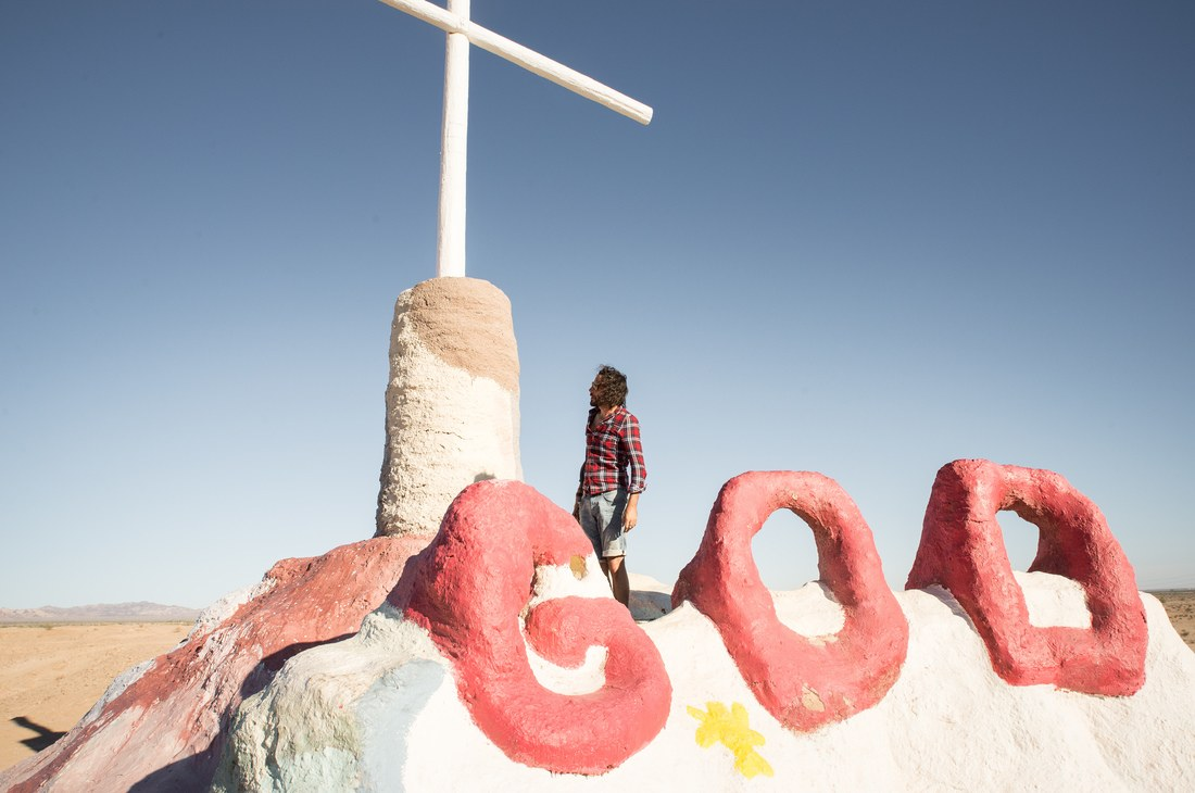 God, Salvation Mountain