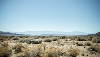 Desert typique du sud de la californie