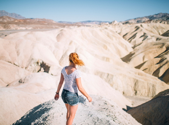 Les paysages impressionnants de Death Valley