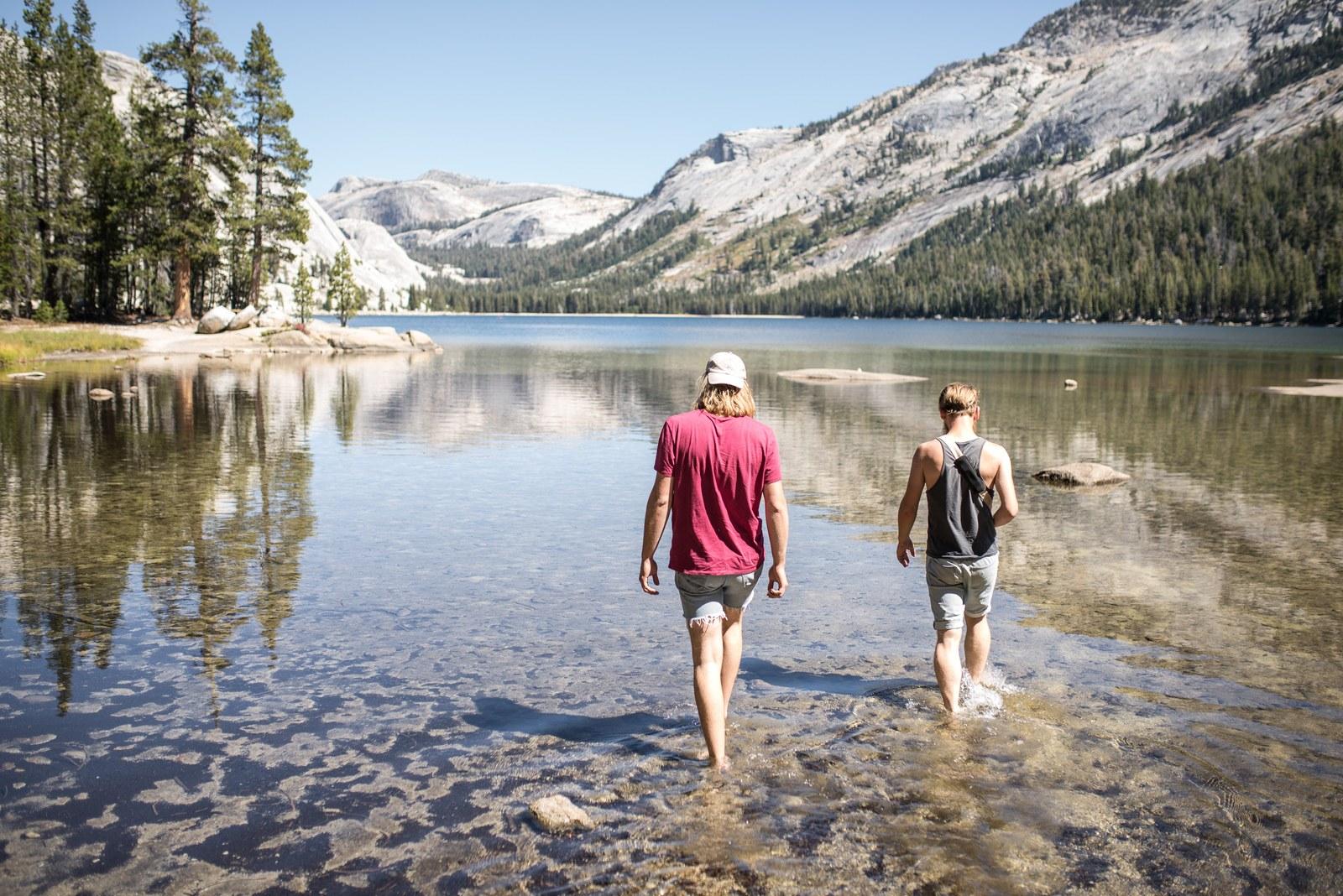Mirror Lake, Snow Creek Trail Yosemite
