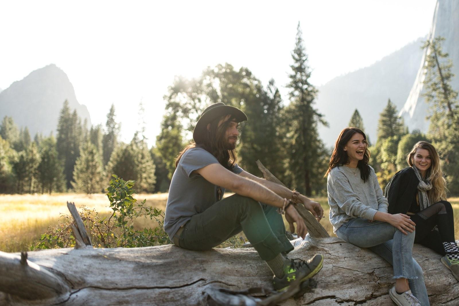 Bande de potes Yosemite