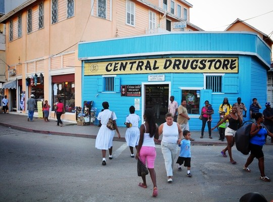 Central drugstore. Belize city