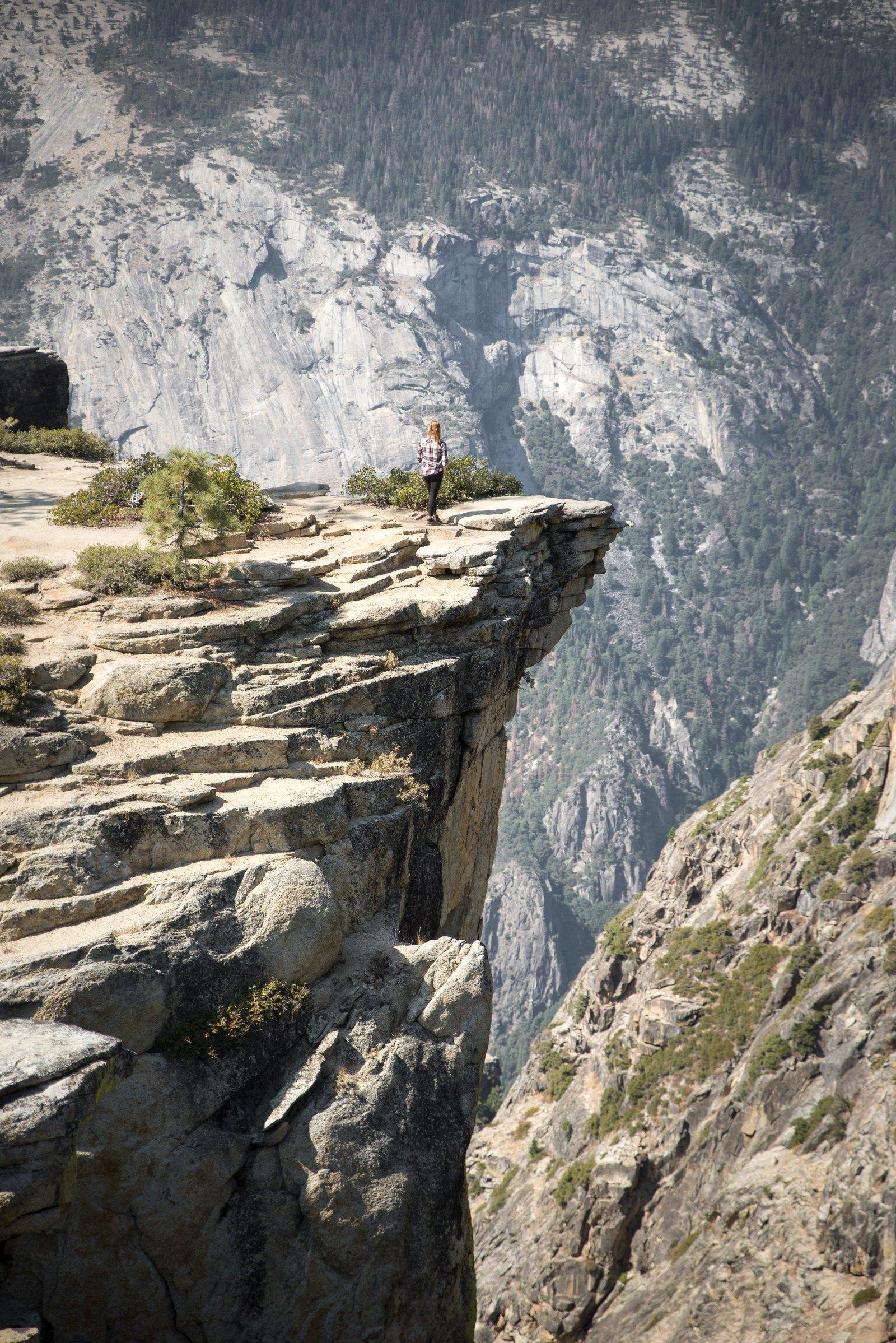 Au bord du gouffre Yosemite