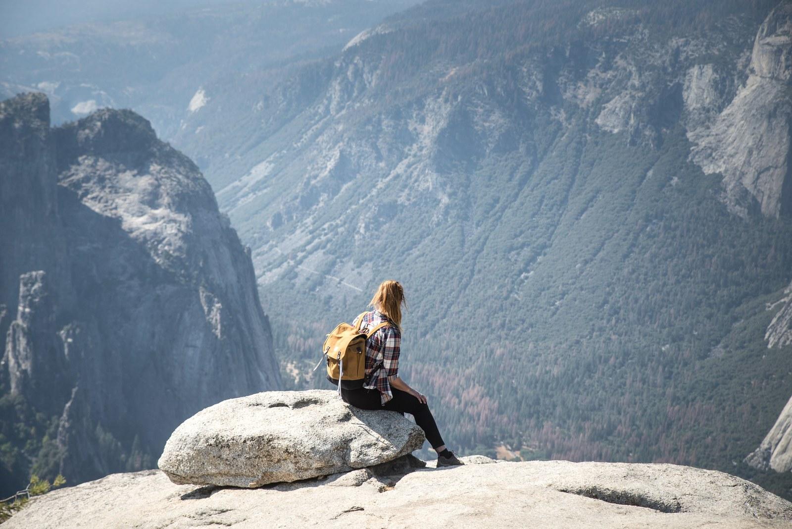Vue panoramique, Taft Point Yosemite