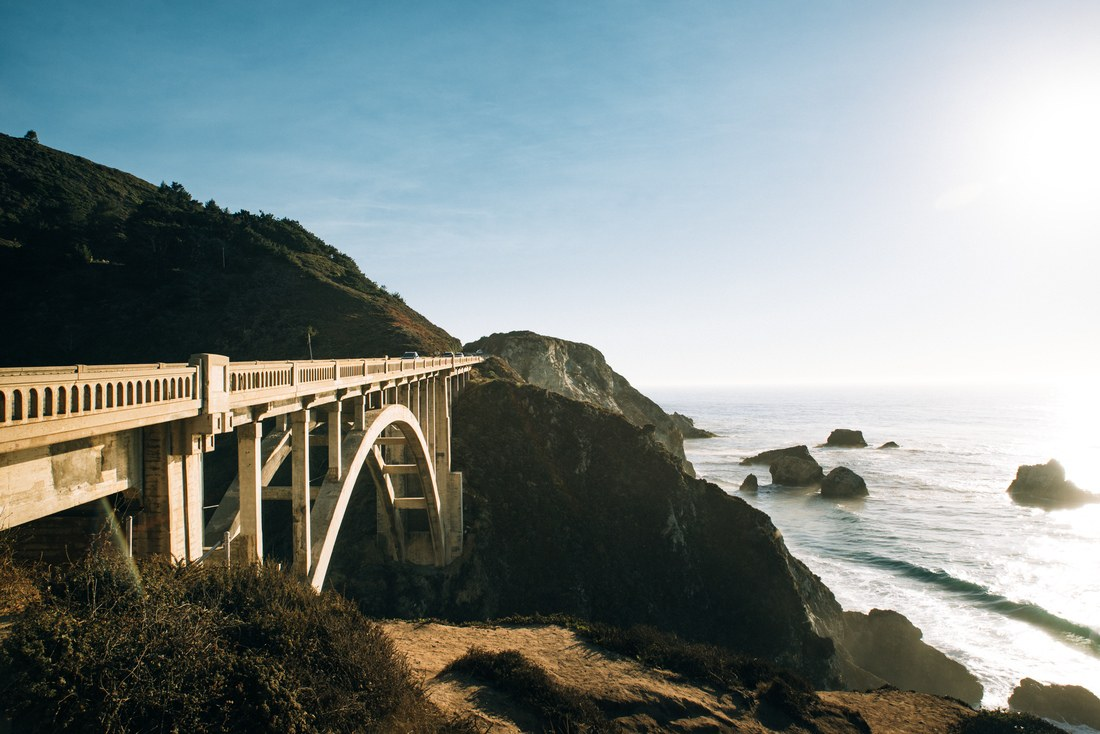 Bixby Bridge, Highway 1, Californie