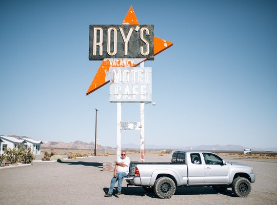 Roy's Motel Cafe de la route 66