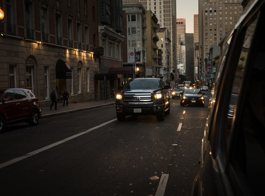 Golden Hour dans les rues de San Francisco