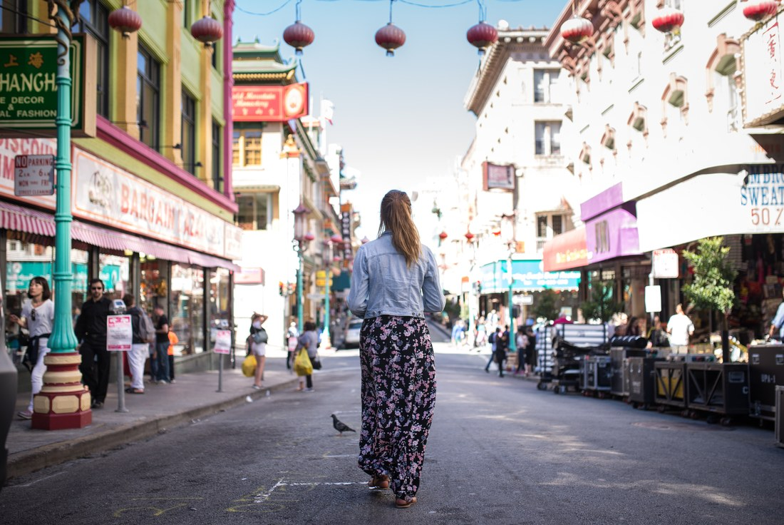 Manue, quartier chinois de San Francisco