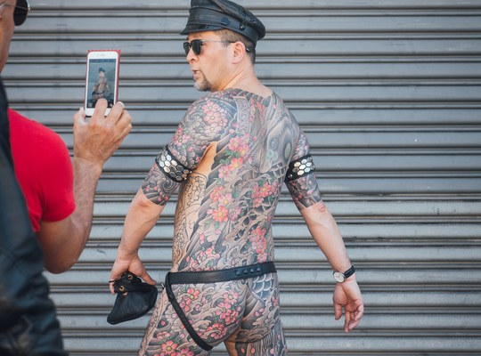 Tatoo, Folsom Street Fair