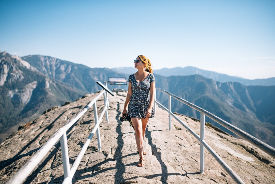 Manue, Moro Rock, Californie