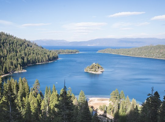 Emerald Bay State Park, Lac Tahoe, Californie
