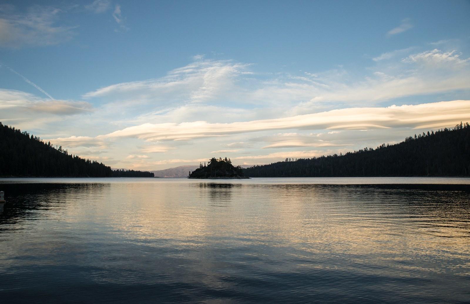 lac coucher de soleil - photo #24