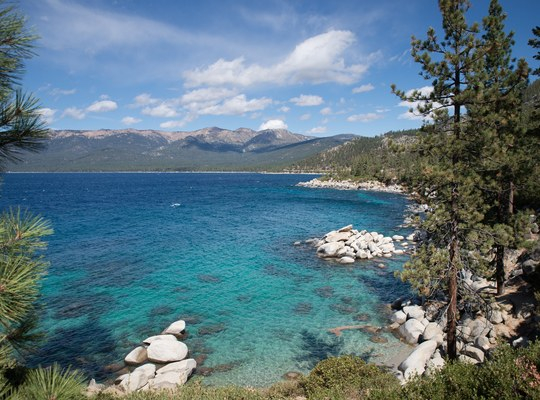 Sand Harbor Overlook, Lac Tahoe