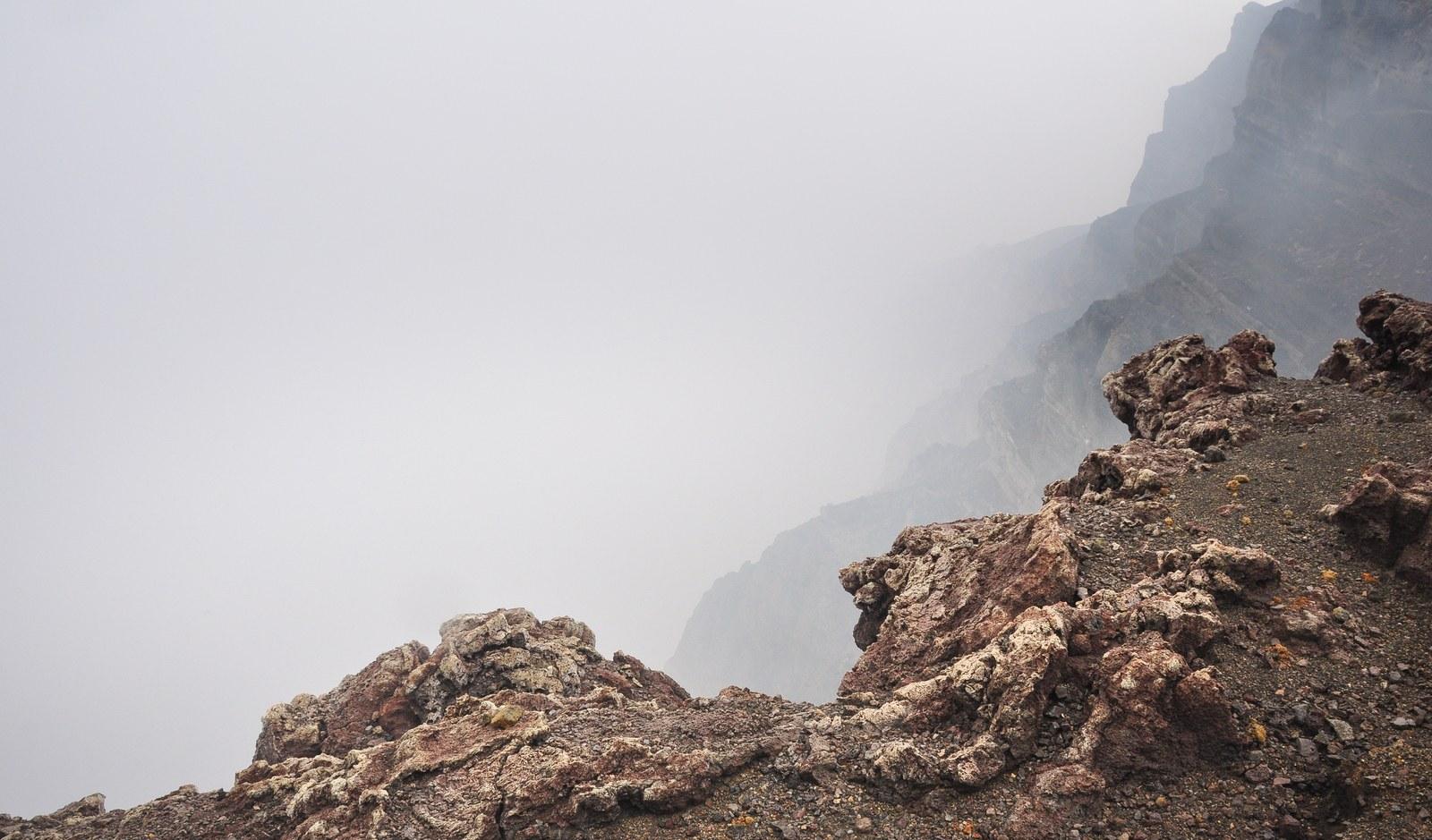 Cratère du volcan Masaya au Nicaragua Masaya