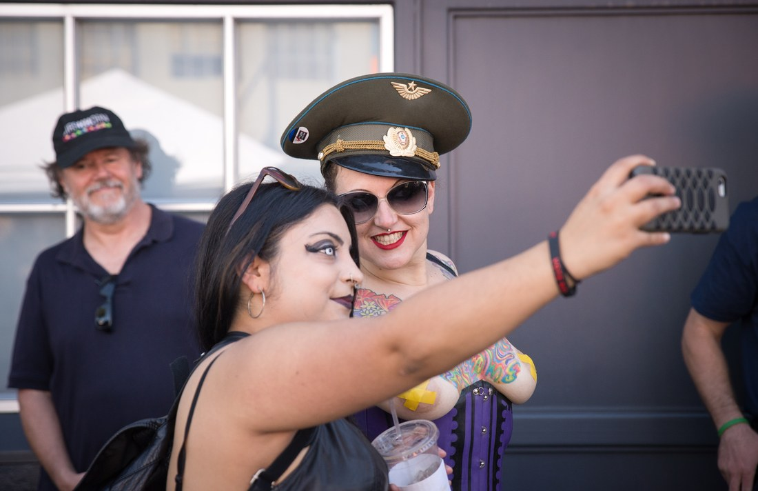 Selfies, Folsom Street Fair