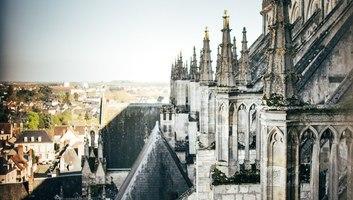 Depuis les hauteurs de la cathedrale