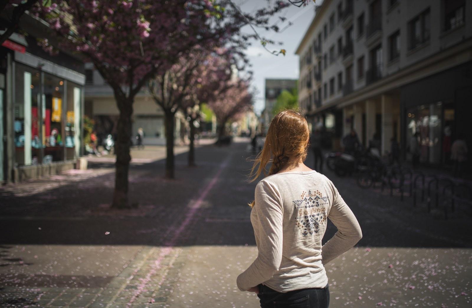 Profiter du printemps à Rouen  Rue de la Poterne