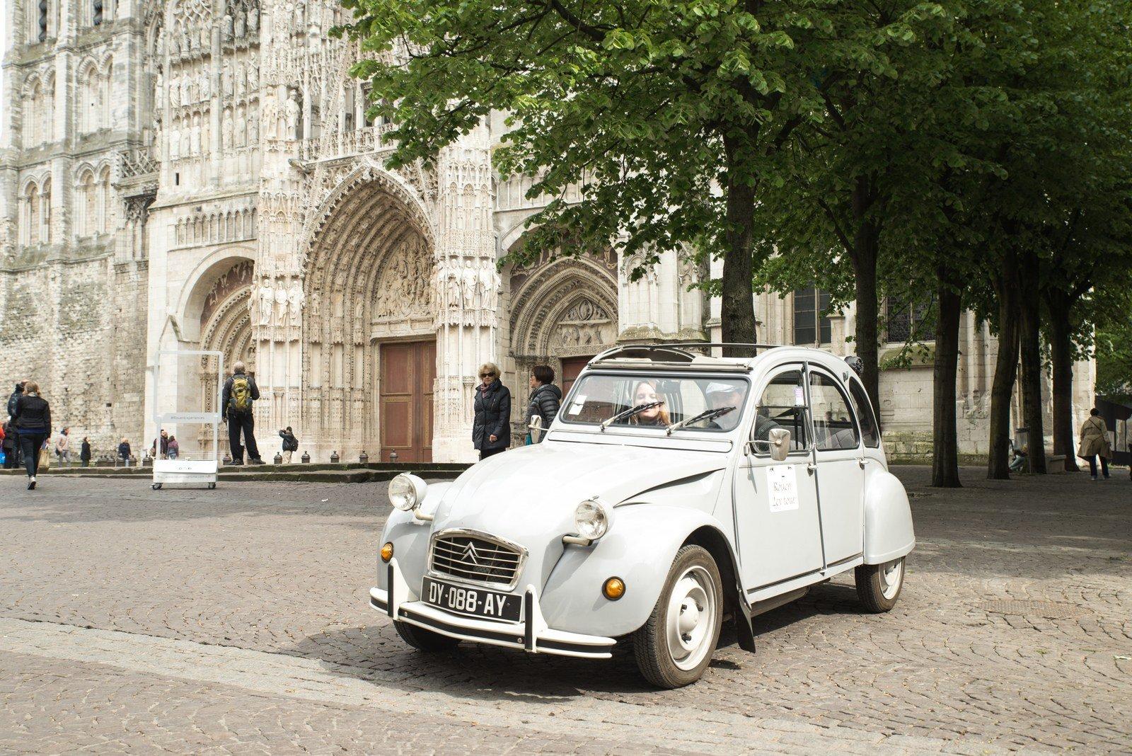 Rouen en 2CV Rouen