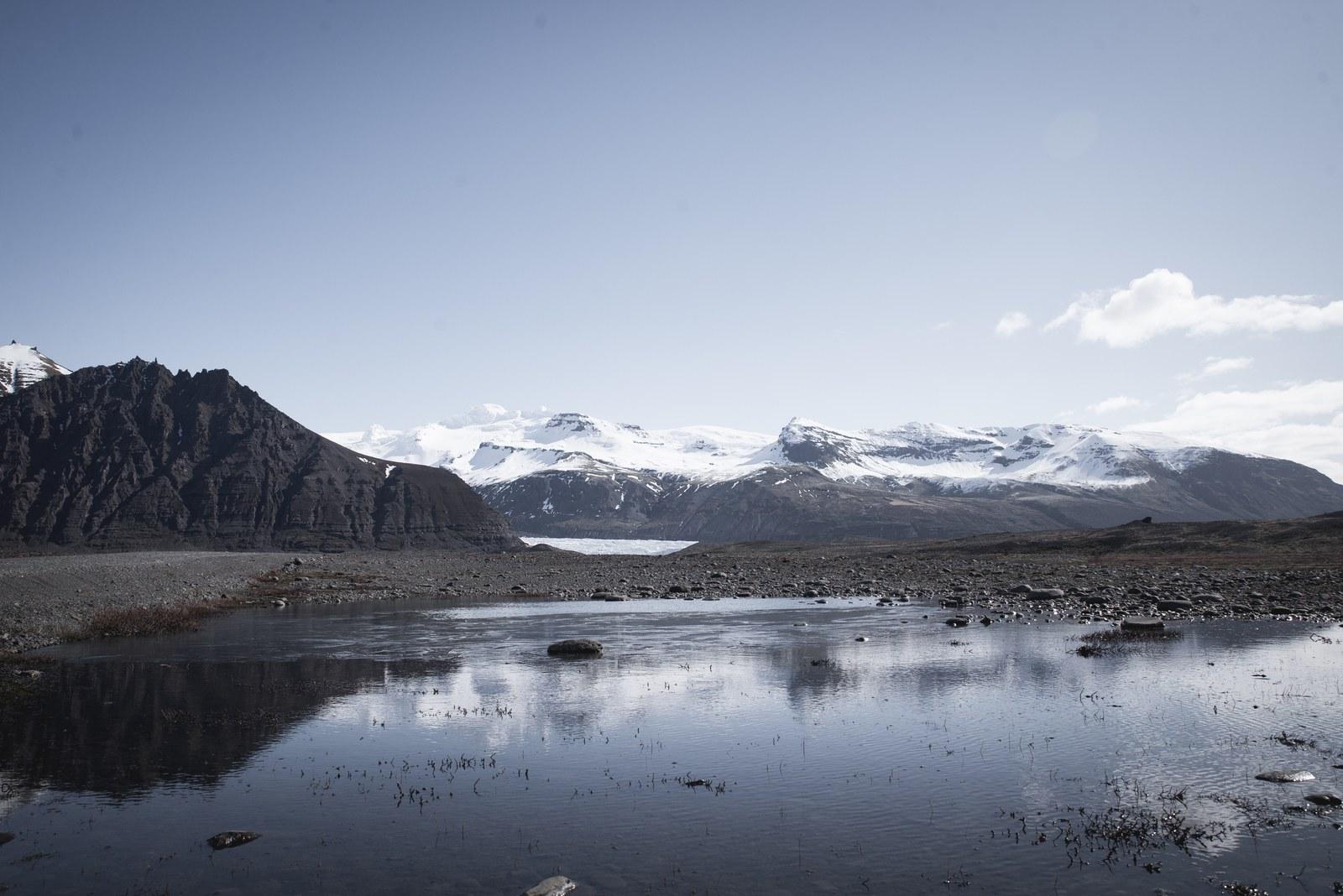 Sommets enneigés, Vatnajokull Vatnajokull