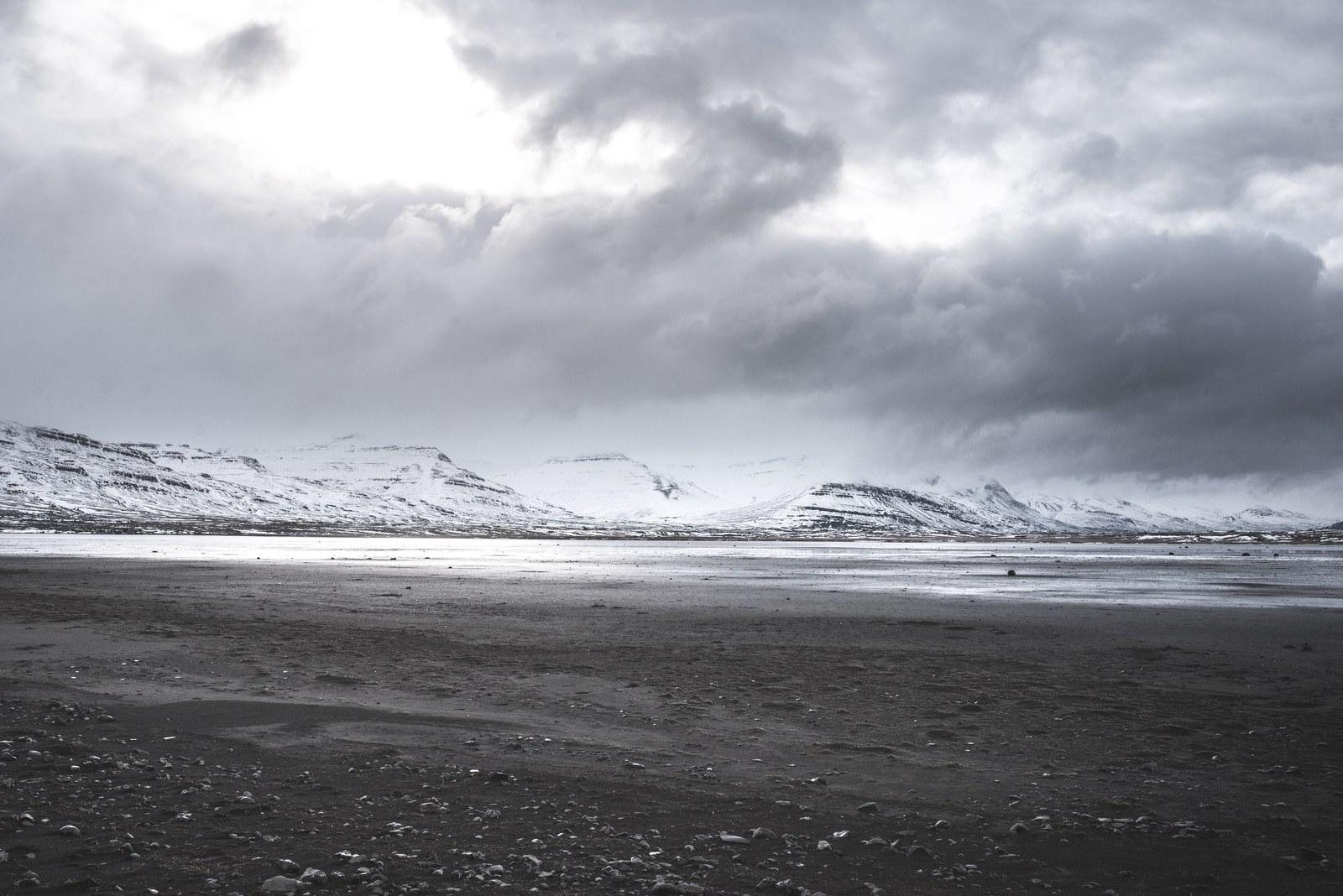 Fjords de l'est, Islande Breiðdalsvík