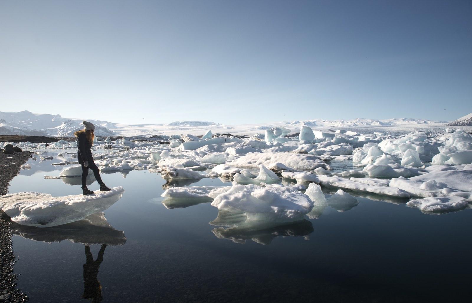 Lac de glace, Jökulsárlón Jökulsárlón