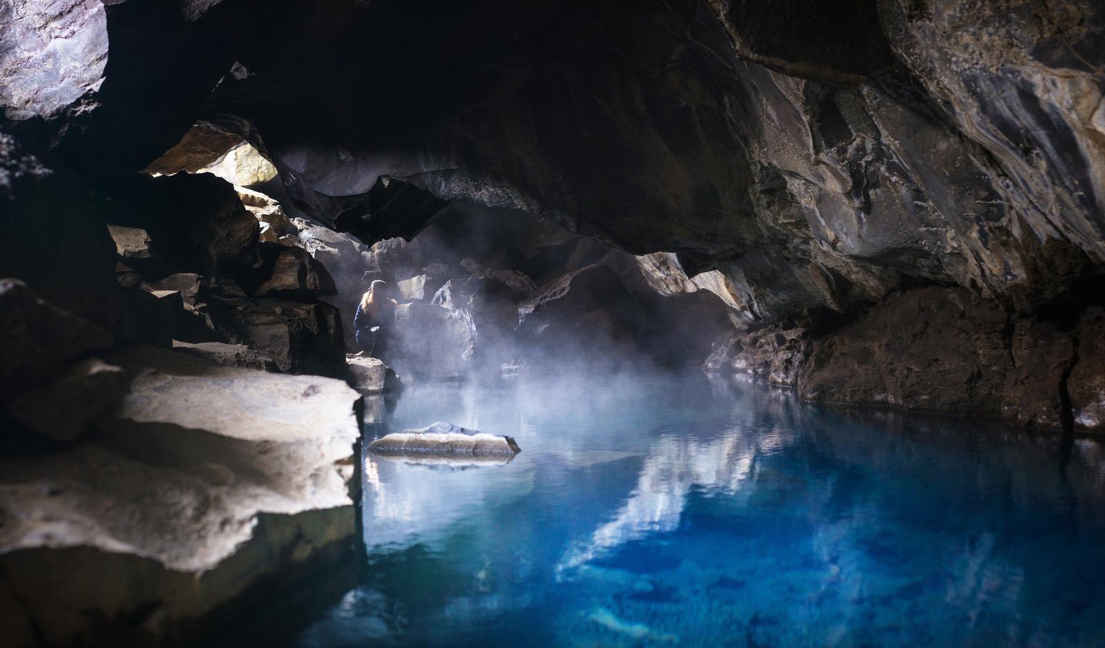 Grjótagjá, grotte en Islande Grjótagjá