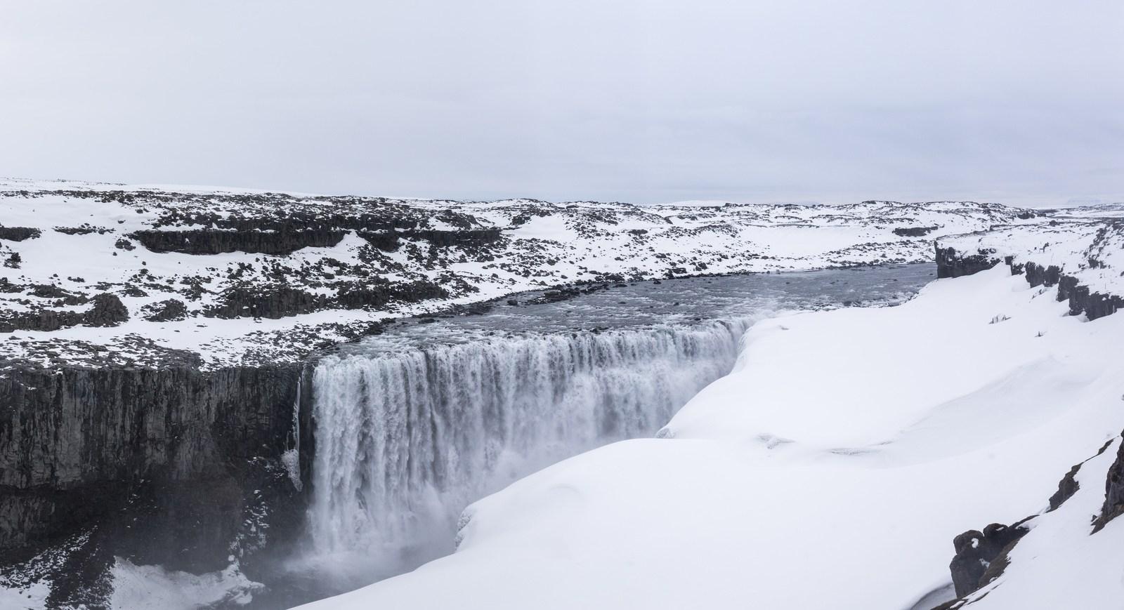 L'impressionnante cascade de Dettifoss Dettifoss