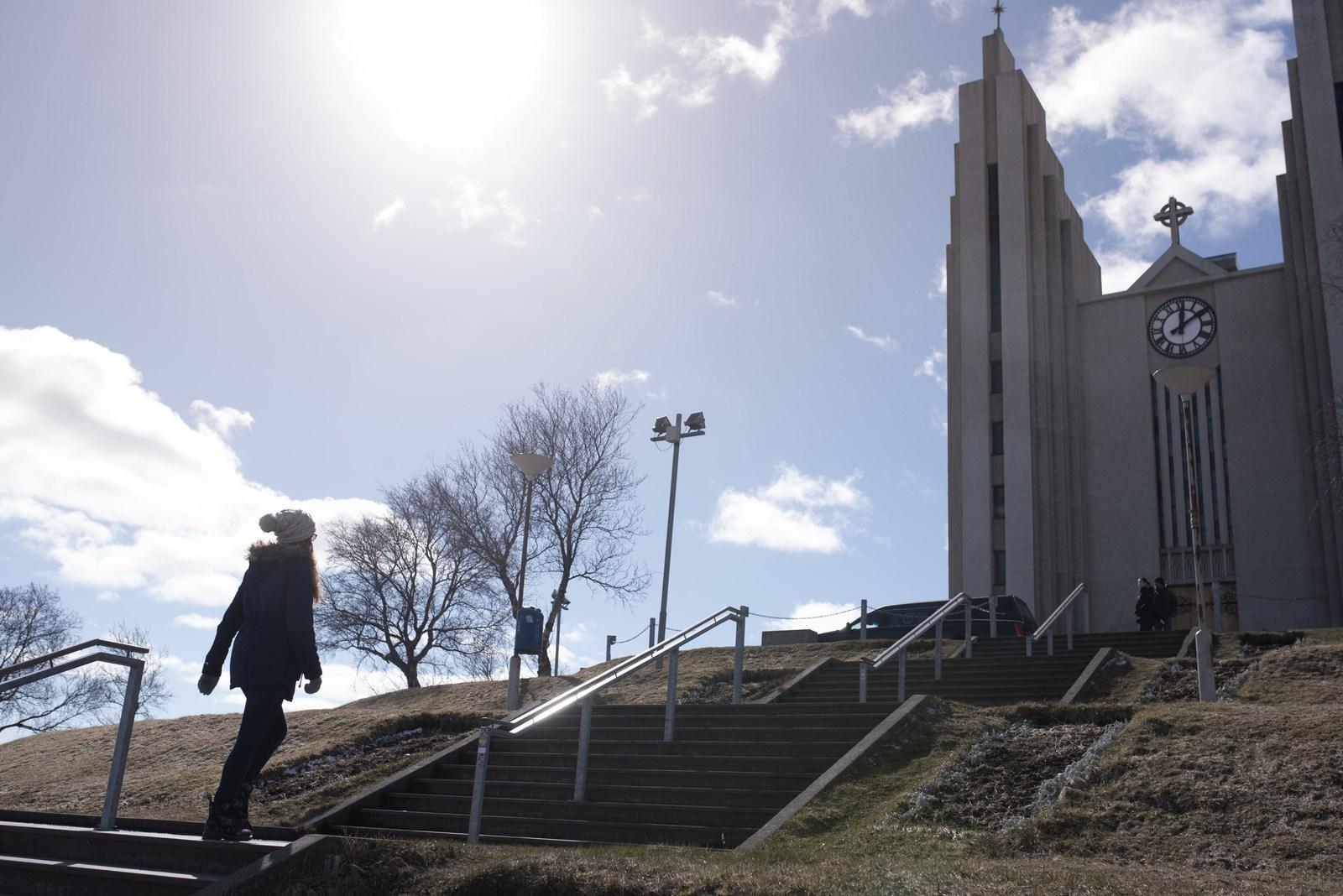 L'église d'Akureyri Akureyri