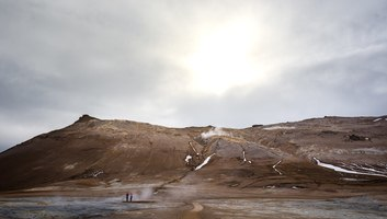 Paysages lunaires d islande