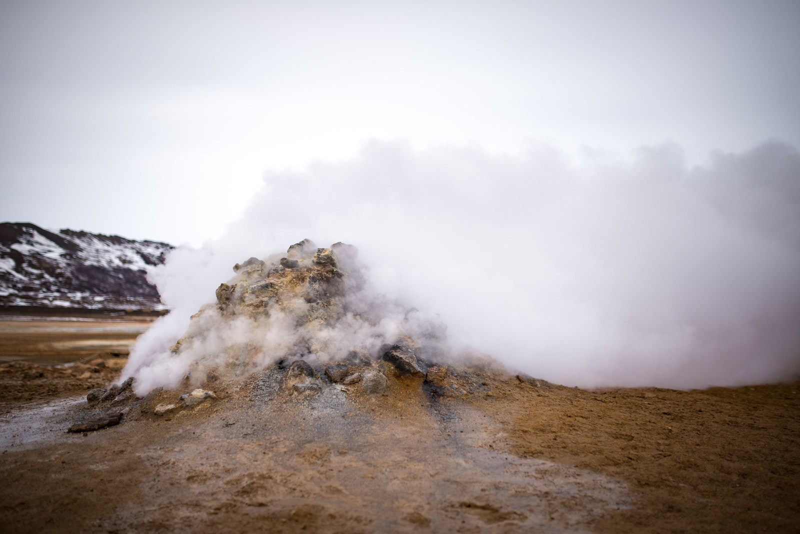 Hverarönd, Islande Námafjall