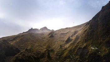 Roches a solheimajokull