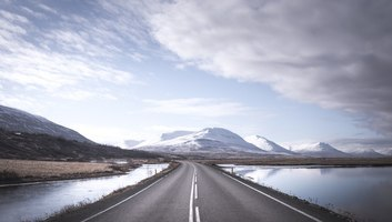 La superbe route 1 d islande