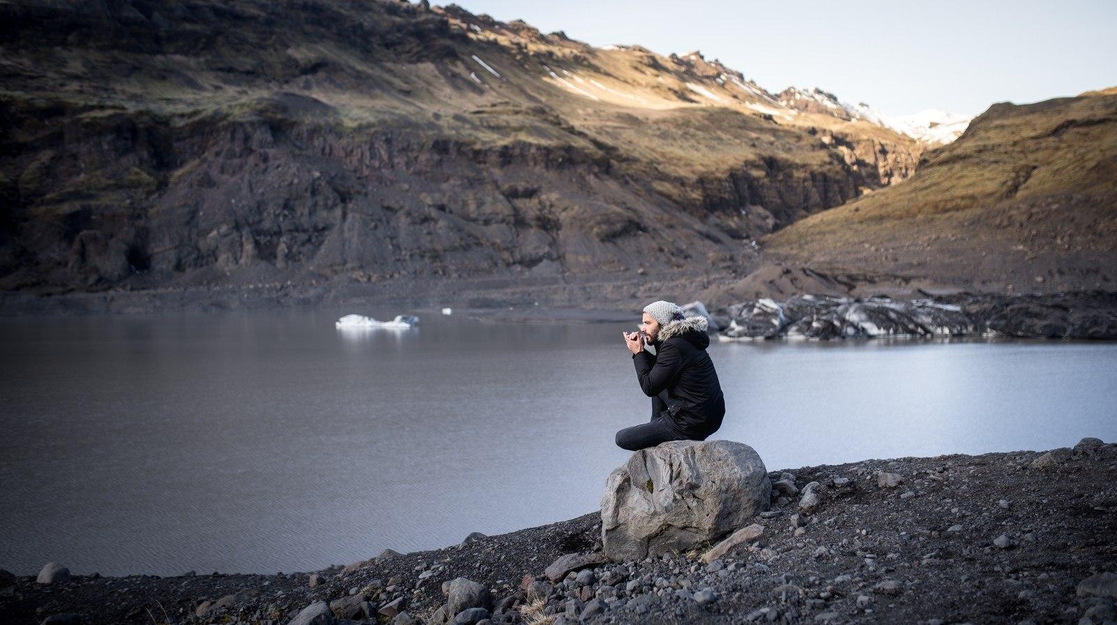 Seb (qui a froid) Sólheimajökull