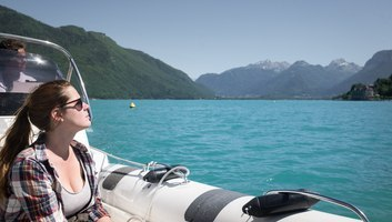 Watertaxi lac d annecy