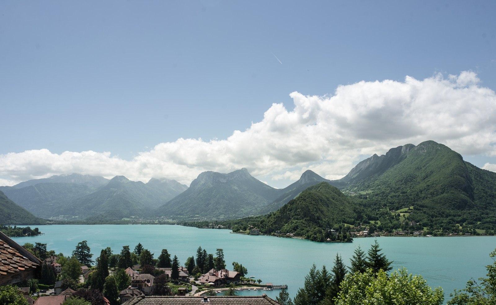 Le lac d'Annecy Annecy